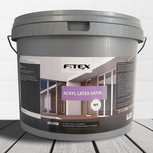 Fitex – Acryl latex satin