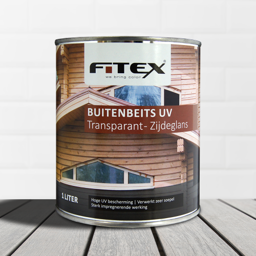 Fitex – Buitenbeits UV transparant – zijdeglans