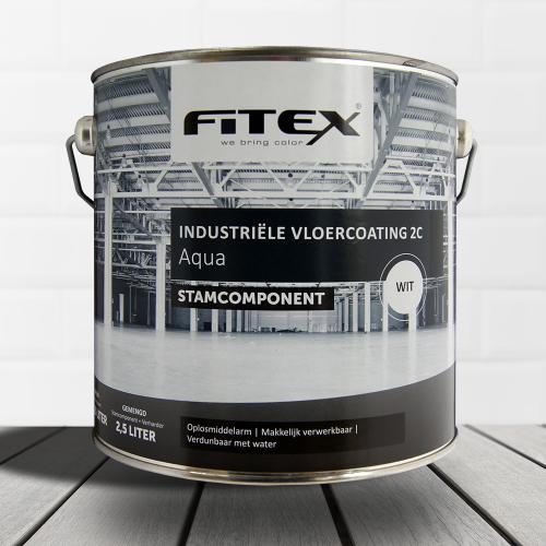 Fitex – Industriële vloercoating aqua