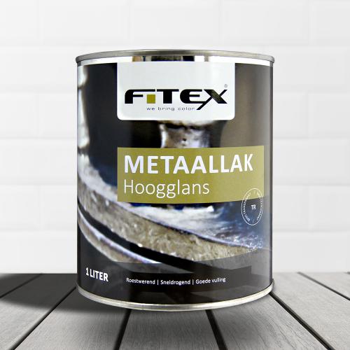 Fitex – Metaallak – hoogglans