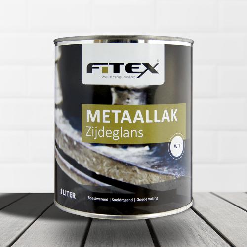 Fitex – Metaallak – zijdeglans