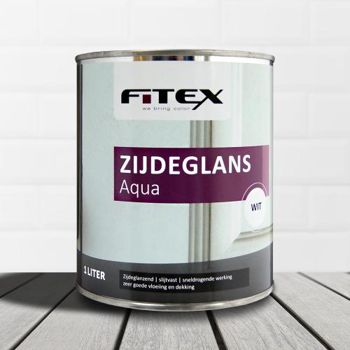 Fitex – Zijdeglans aqua