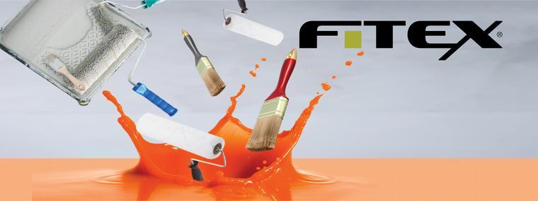 Fitex non-paint artikelen - Schildersbenodigdheden zoals kwasten, verfbakjes en tape