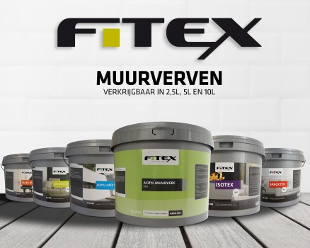 Fitex Muurverf - muurverven voor binnen en buiten